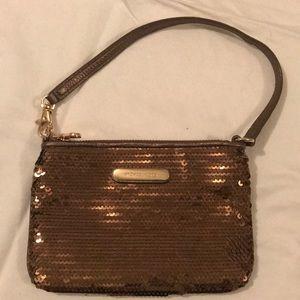Michael Kors Sequin Wristlet/Shoulder Bag